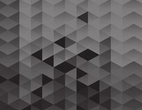 Black triangles background texture. Design royalty free illustration