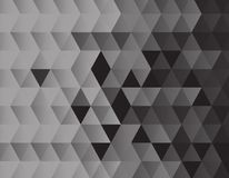 Black triangles background texture. Design vector illustration