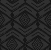 Black tribal Navajo vector seamless pattern with doodle elements. aztec abstract geometric art print. ethnic hipster vector illustration