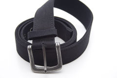 Black trousers belt Stock Image