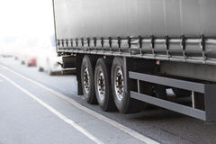 Black truck Royalty Free Stock Photography