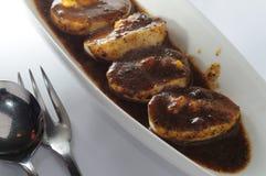 Black Truffle egg Royalty Free Stock Image