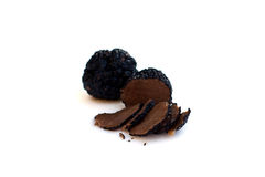 Black truffles Royalty Free Stock Photography