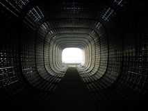 Black tunnel Stock Photography