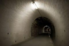 Black tunnel Stock Image