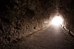 Black tunnel Stock Photos