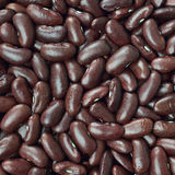 Black turtle beans texture background or pattern. Raw food. Stock Images