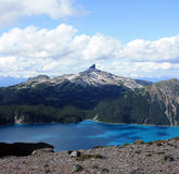 Black Tusk And Garibaldi Lake Royalty Free Stock Photo