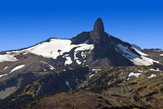 Black Tusk Mountain in British Columbia Royalty Free Stock Photography