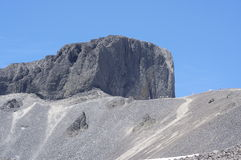 The Black Tusk pinnacle of volcanic rocks Royalty Free Stock Photography
