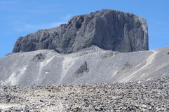 The Black Tusk pinnacle of volcanic rocks Stock Photos
