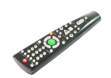 Black TV remote control Royalty Free Stock Photo