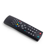 Black tv remote control  Stock Photography