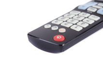 Black TV remote Royalty Free Stock Photos