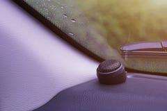 Free Black Tweeter Speaker In Front Of The Car Royalty Free Stock Image - 199590596