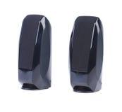 Black two speaker wireless. Royalty Free Stock Photo