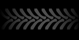 Black Tyre Marks Stock Photo