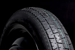 Black Tyre Rubber Royalty Free Stock Image