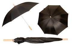 Black umbrella Stock Photography