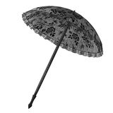 Black umbrella Stock Images