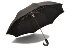 Black Umbrella Royalty Free Stock Photo