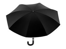 Black Umbrella Stock Photography