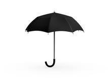 Black Umbrella Stock Photo