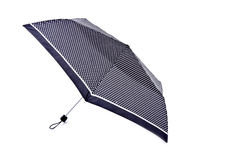 Black Umbrella with White Polka Dots Stock Photography