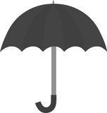 Black umbrella vector Royalty Free Stock Images