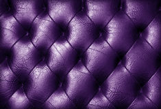 Black upholstery. Stock Image