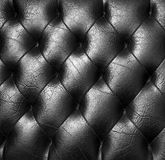 Black upholstery. Royalty Free Stock Photography