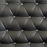 Black upholstery pattern with diamonds Stock Image