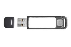 Black usb flash Royalty Free Stock Images