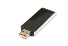 Black usb memory Royalty Free Stock Image