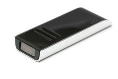 Black usb memory Royalty Free Stock Photography