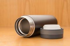 Black vacuum tumbler Stock Photography