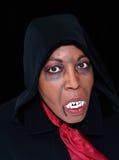 Black vampire Royalty Free Stock Photo