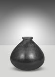 Black vase Stock Image