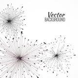 Black vector background Stock Photos