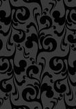 Black velvet background. A repeating  background resembling black velvet wallpaper Royalty Free Stock Image