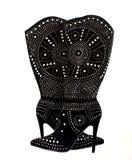 Black Velvet Boots Royalty Free Stock Image