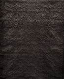 Black Velvet with Embossed Vintage Pattern Fabric Swatch Stock Image