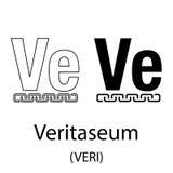 Veritaseum black silhouette Stock Photography