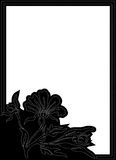 Black Vertical Frame Royalty Free Stock Images