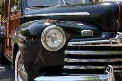 Black vintage car Stock Photo
