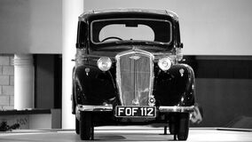 Black Vintage Car Royalty Free Stock Images