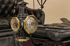 Black Vintage Car Light Royalty Free Stock Photos