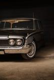 Black vintage car Royalty Free Stock Image