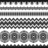 Black vintage lace on a white background vector illustration