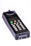 Black vintage mobile phone Royalty Free Stock Photo